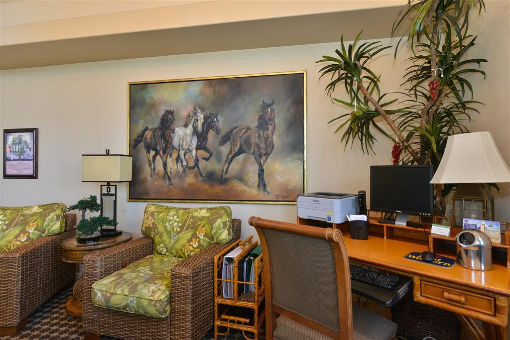 Best Western Plus Black Oak - We offer a business center with free high-speed Internet access as well as fax and photocopying service for your convenience.
