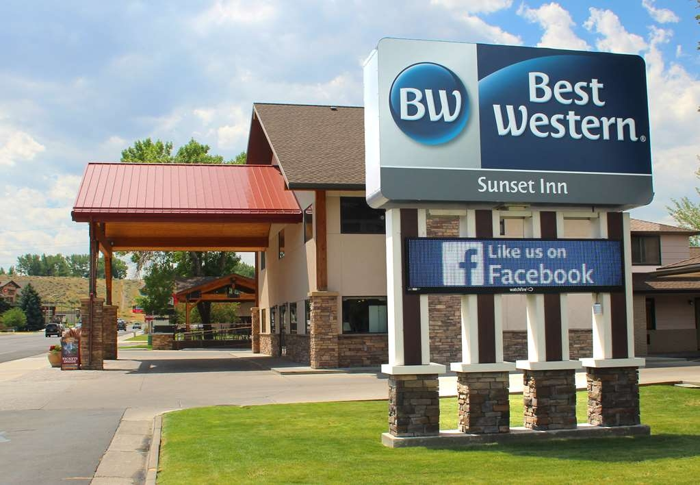 Best Western Sunset Inn - Vista Exterior