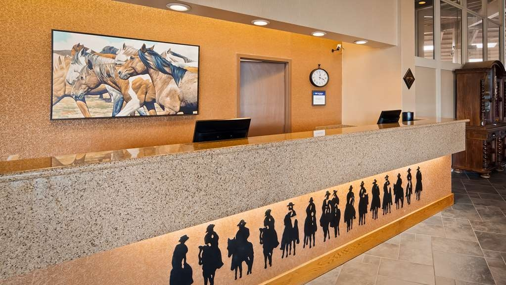 Best Western Outlaw Inn - Vista del vestíbulo