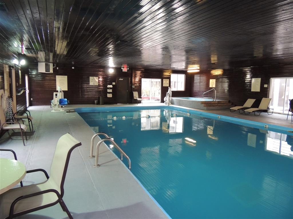 Best Western Tower West Lodge - Enjoy our huge indoor pool & spa year round.