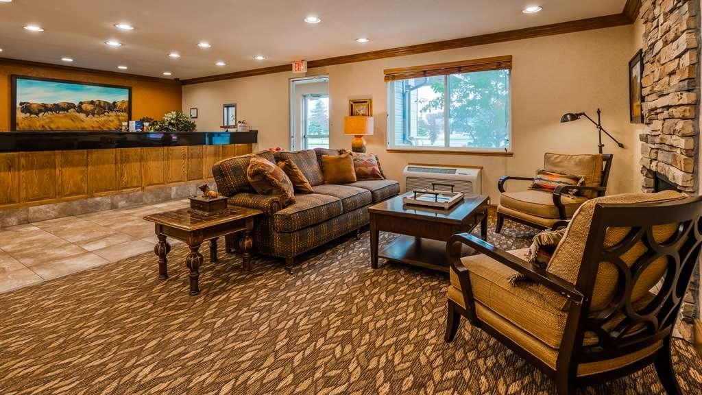 Best Western Pinedale Inn - Vue du lobby