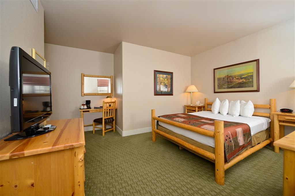 Best Western Plus Plaza Hotel - Our single queen rooms are spacious, yet comfortable.