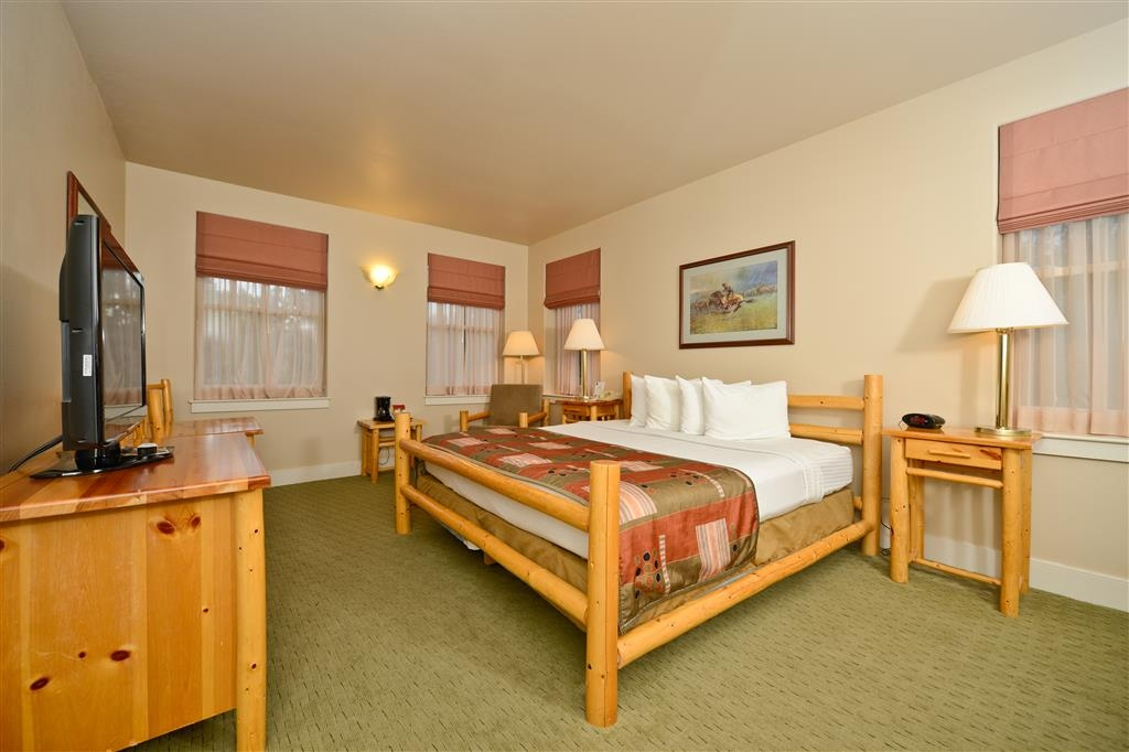Best Western Plus Plaza Hotel - Our single king rooms offer the height of comfort.