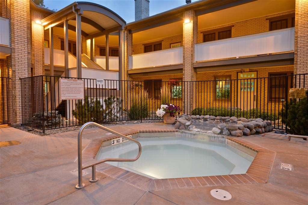 Best Western Plus Plaza Hotel - Let your weariness wash away in our natural mineral spring-fed hot tub.