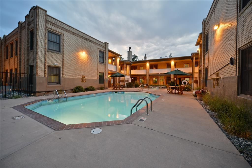 Best Western Plus Plaza Hotel - Our pool area is a wonderful oasis for the weary road warrior.