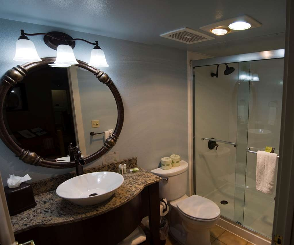 Best Western Plus Plaza Hotel - Our newly remodeled bathrooms offer comfort and convenience.