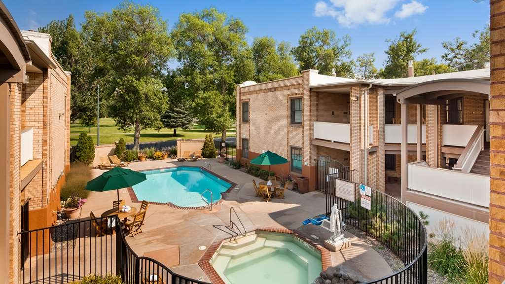 Best Western Plus Plaza Hotel - Our outdoor pool is open from Memorial Day through Labor Day. Our mineral hot tub is open year round!