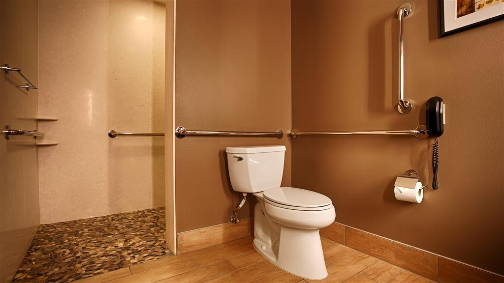 Best Western Premier Ivy Inn & Suites - We designed our ADA mobility accessible bathrooms for easy wheelchair access.