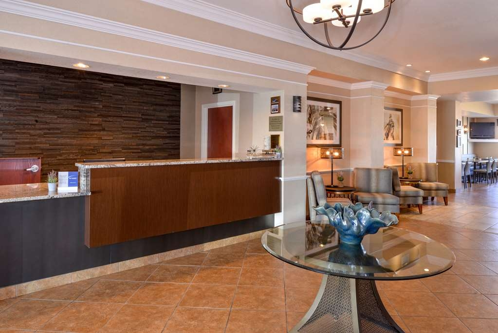 Best Western Plus Frontier Inn - Our newly remodeled lobby is great for meeting up with friends or family, and checking in and out.