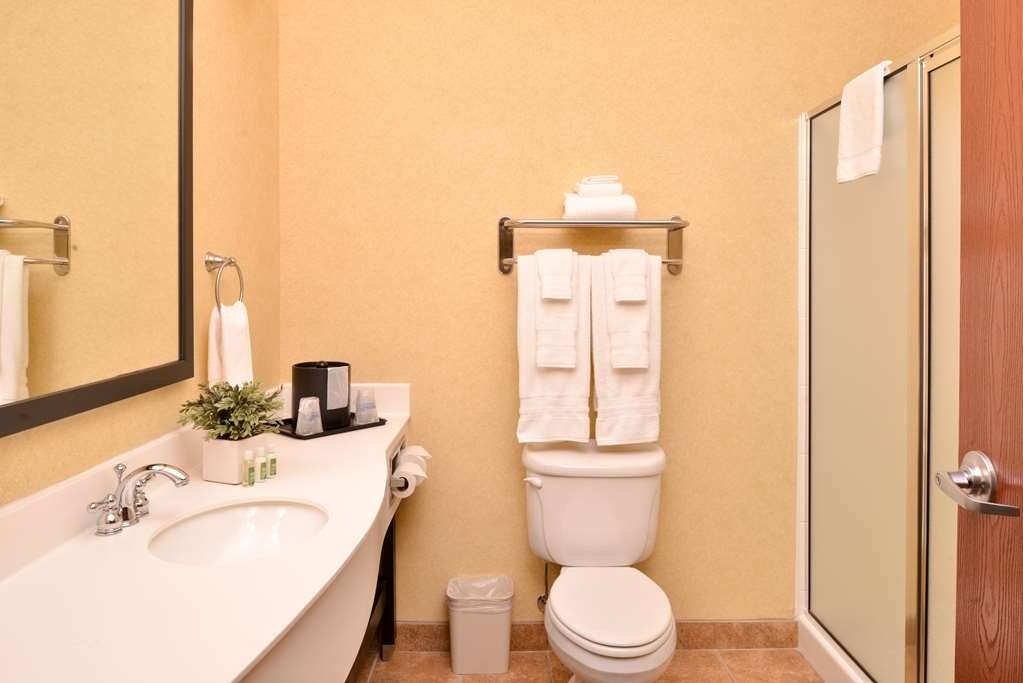 Best Western Plus Frontier Inn - Select guest bathrooms are updated with showers only.