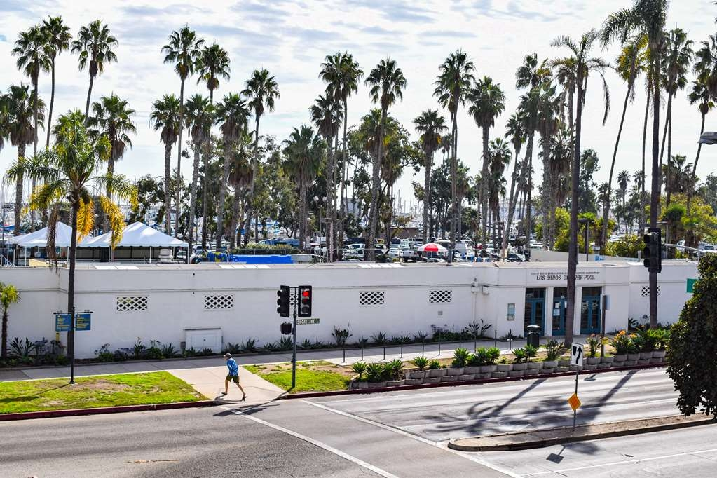 Best Western Beachside Inn - View of Los Banos del Mar from the balconies of our Parkside Rooms.