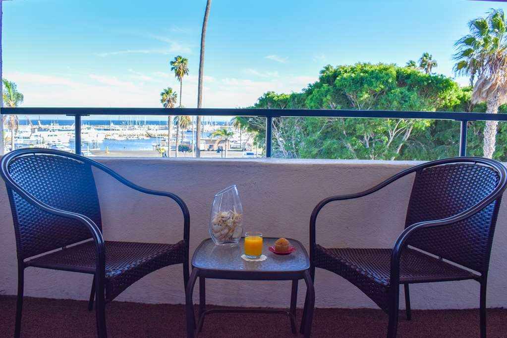 Best Western Beachside Inn - The balconies on our Harborside Rooms offer incredible views of Santa Barbara Harbor, West Beach, Stearns Wharf and the Santa Ynez Mountains.
