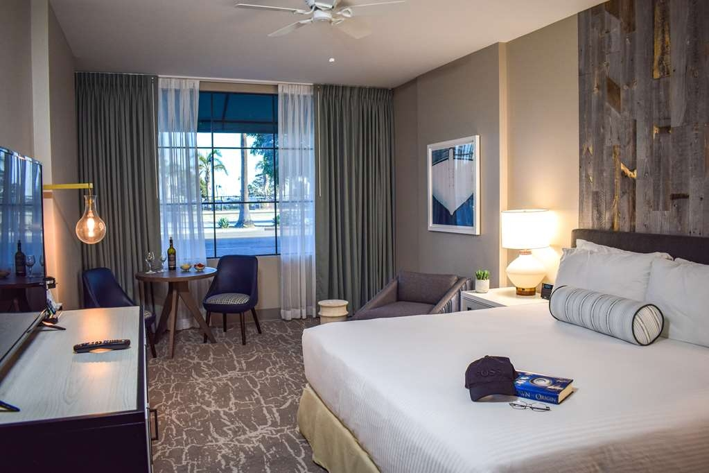 Best Western Beachside Inn - Some of our first floor Signature King Rooms offer some amazing views of Santa Barbara Harbor.