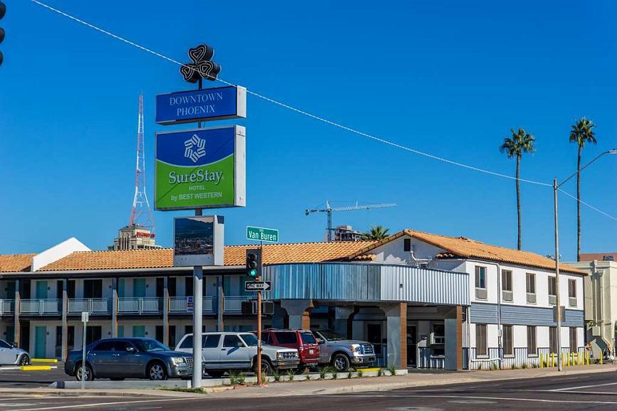 SureStay Hotel by Best Western Phoenix Downtown - Area esterna