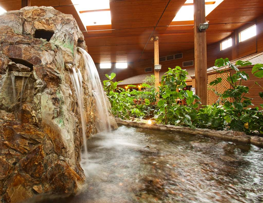 SureStay Hotel by Best Western Chilliwack - Tropical Atrium Fountain
