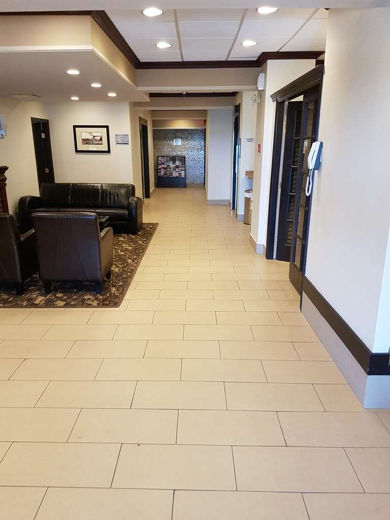 SureStay Plus Hotel by Best Western Coquitlam - Our lobby is the perfect spot to relax after a long day of work and travel.