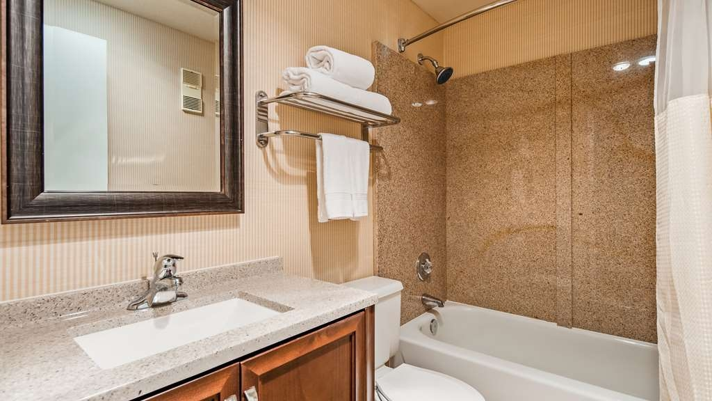 SureStay Plus Hotel by Best Western Lompoc - Enjoy getting ready for the day in our fully equipped guest bathrooms.