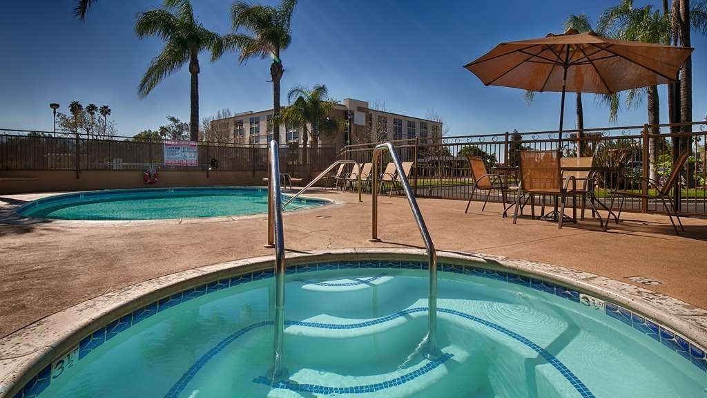 SureStay Plus Hotel by Best Western San Bernardino South - There's nothing like a relaxing dip in our hot tub after a long day.
