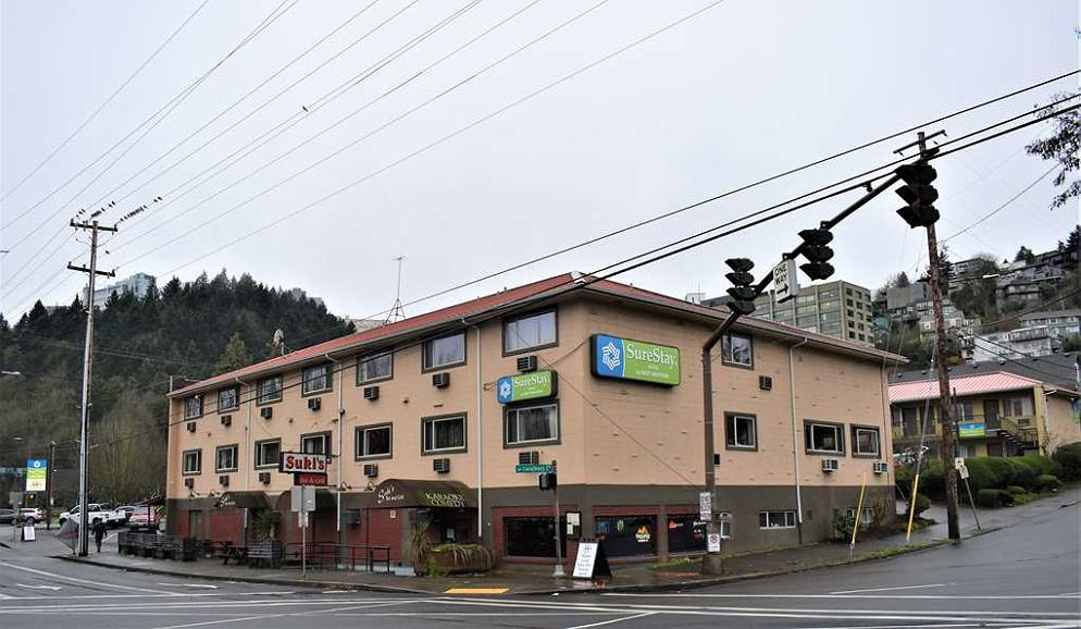 SureStay Hotel by Best Western Portland City Center - Aussenansicht