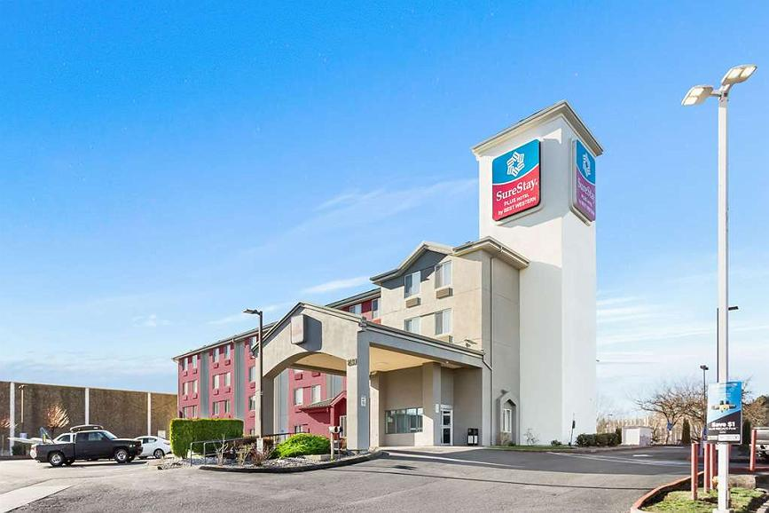SureStay Plus Hotel by Best Western Portland East - Vista exterior