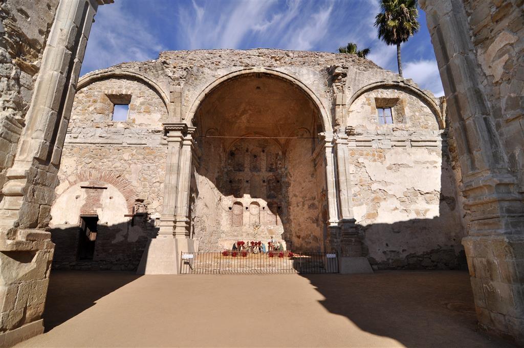 Best Western Capistrano Inn - Misión de San Juan, ruinas de la iglesia de piedra