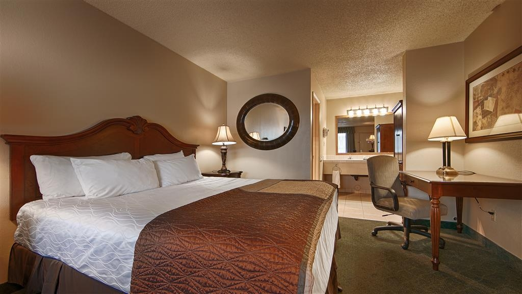 Best Western Miner's Inn - Sink into the comfort of our luxurious mattresses in our king guest rooms.