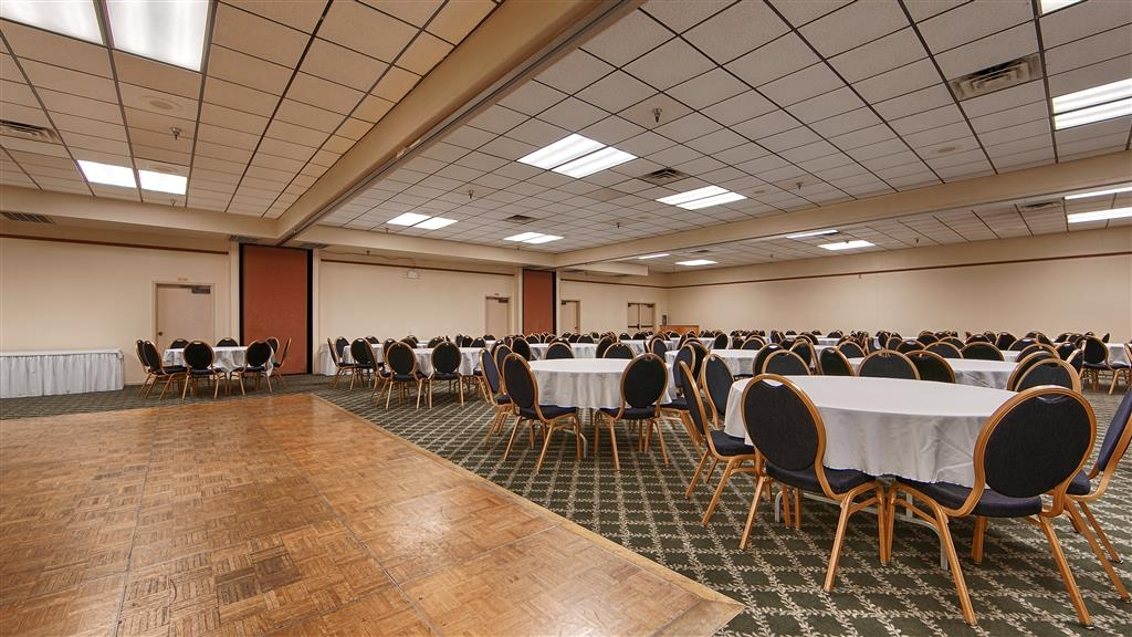 Best Western Miner's Inn - Book your next event at our 3,600 square foot convention center which can be separated into three sections for smaller events.