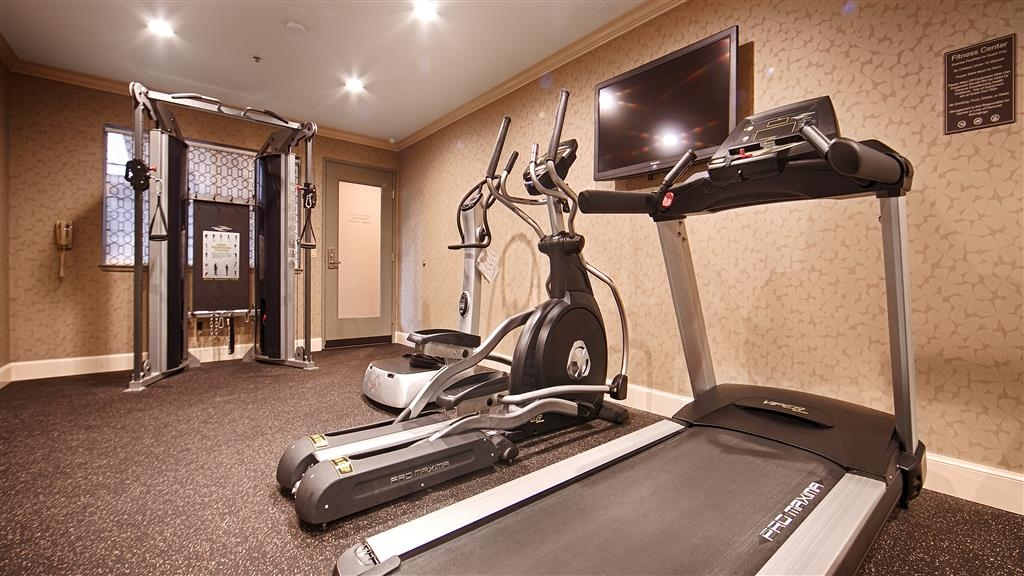 Best Western Plus Sutter House - Work off last nights delicious dinner in our fitness center.