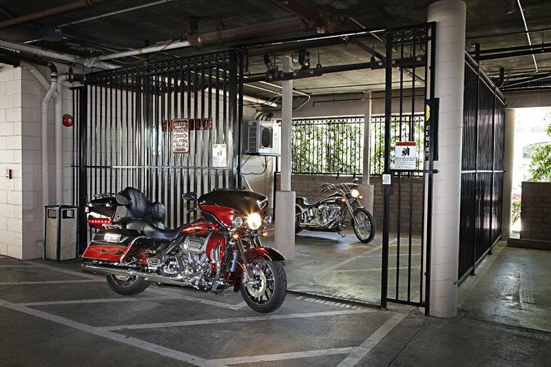 Best Western Plus Sutter House - We offer a secure place to park for those on motorcycles.