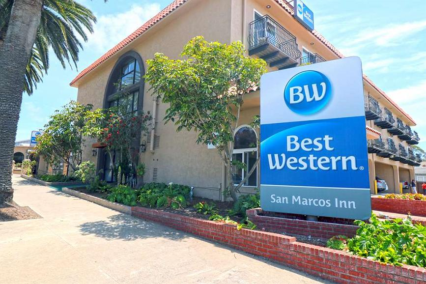 Best Western San Marcos Inn - Come stay at the Best Western San Marcos Inn, just one block away from the Embarcadero, walking distance to shopping and variety of restaurants.