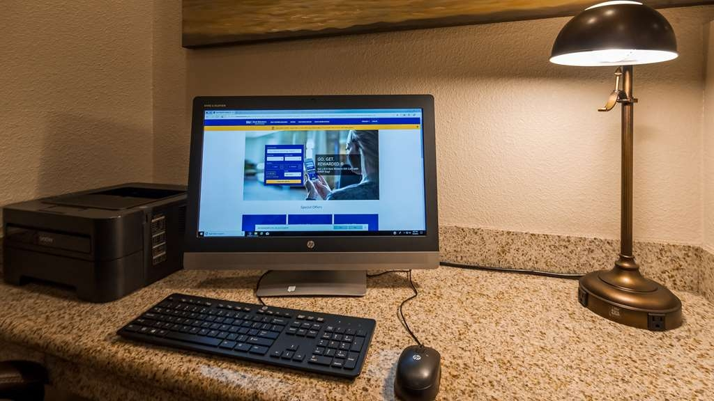 Best Western Inn Santa Clara - Our business center is available for you to print your boarding passes, catch up on emails and browse the web.