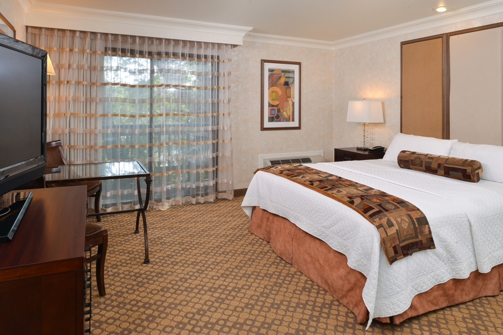 Best Western Corte Madera Inn - Make yourself at home in our mobility accessible king guest room.