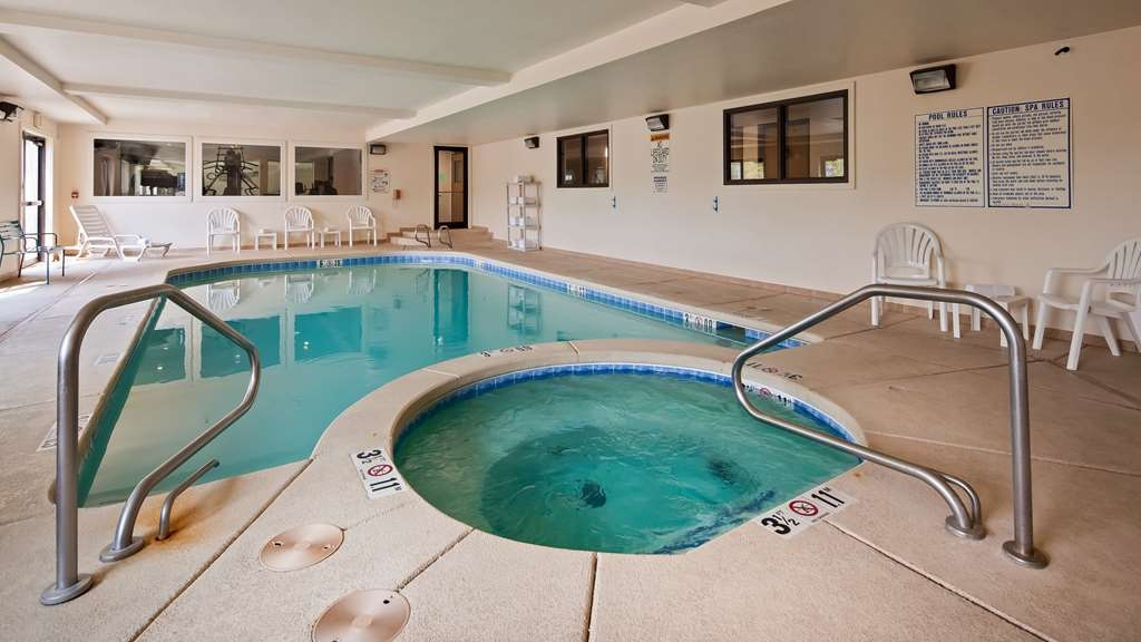 SureStay Plus Hotel by Best Western Buffalo - The indoor pool is perfect for swimming laps or taking a quick dip.