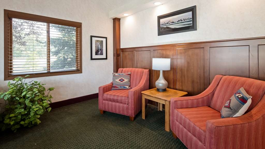 SureStay Plus Hotel by Best Western Buffalo - Our lobby is the perfect spot to relax after a long day of work and travel.