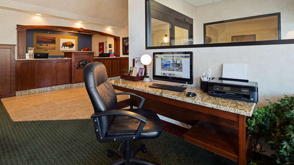 SureStay Plus Hotel by Best Western Buffalo - Stay connected with family and friends by using our onsite business center.
