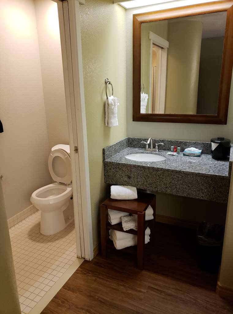 SureStay Plus by Best Western Thornton Denver North - All guest bathrooms have plenty of vanity space to unpack the necessities.