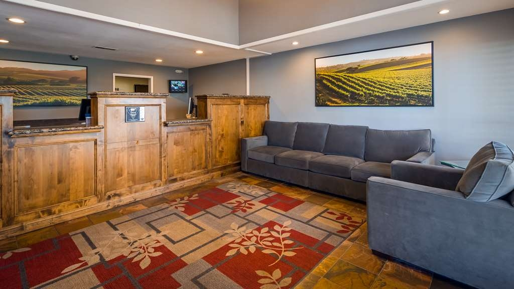 Best Western Inn - Our front desk is happy to provide all the comforts of home for you during your stay.