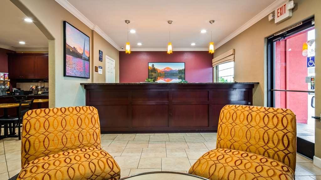 Best Western Anderson Inn - Vue du lobby