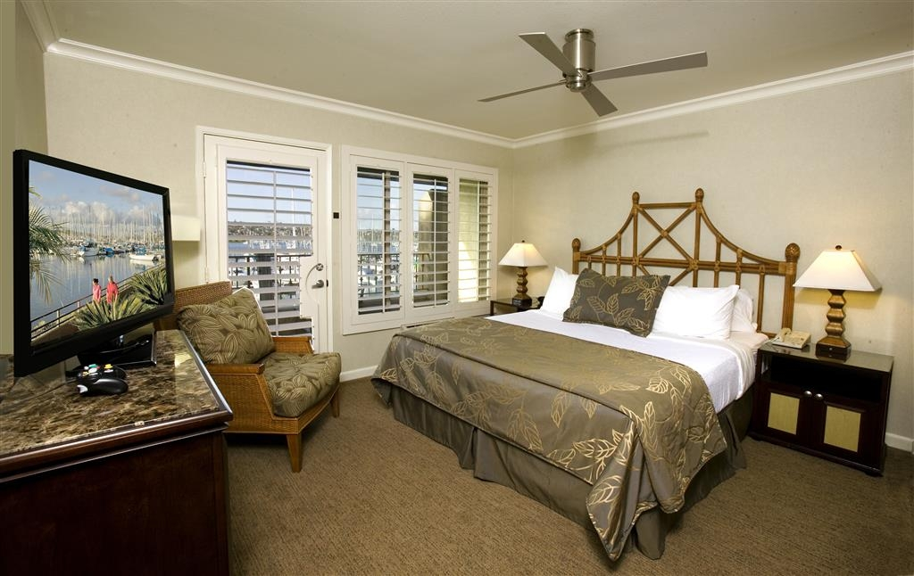 Best Western Plus Island Palms Hotel & Marina - Located in the Casa Del Mar Building, these newly renovated guest rooms feature spectacular views of our private marina or San Diego Bay.