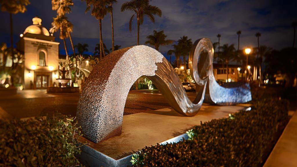 "Best Western Plus Island Palms Hotel & Marina - ""Timeless Wave"", public art at the Best Western Plus Island Palms Hotel & Marina."