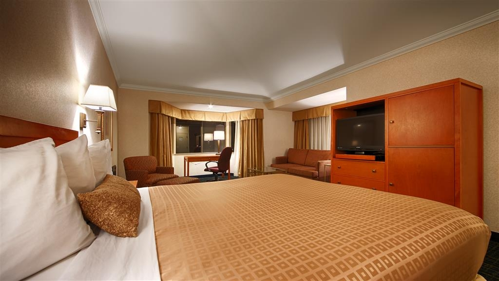 Best Western De Anza Inn - Rest and relax in our spacious king guestroom.