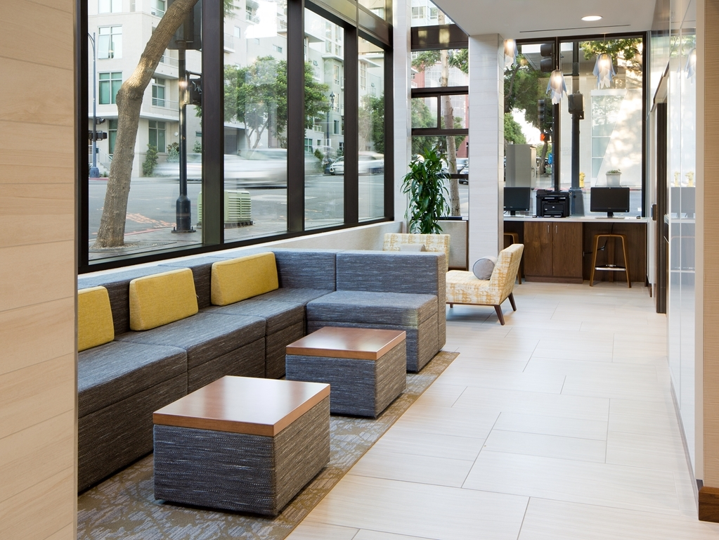 Best Western Plus Bayside Inn - Newly Remodeled Lobby Seating Area - May 2015