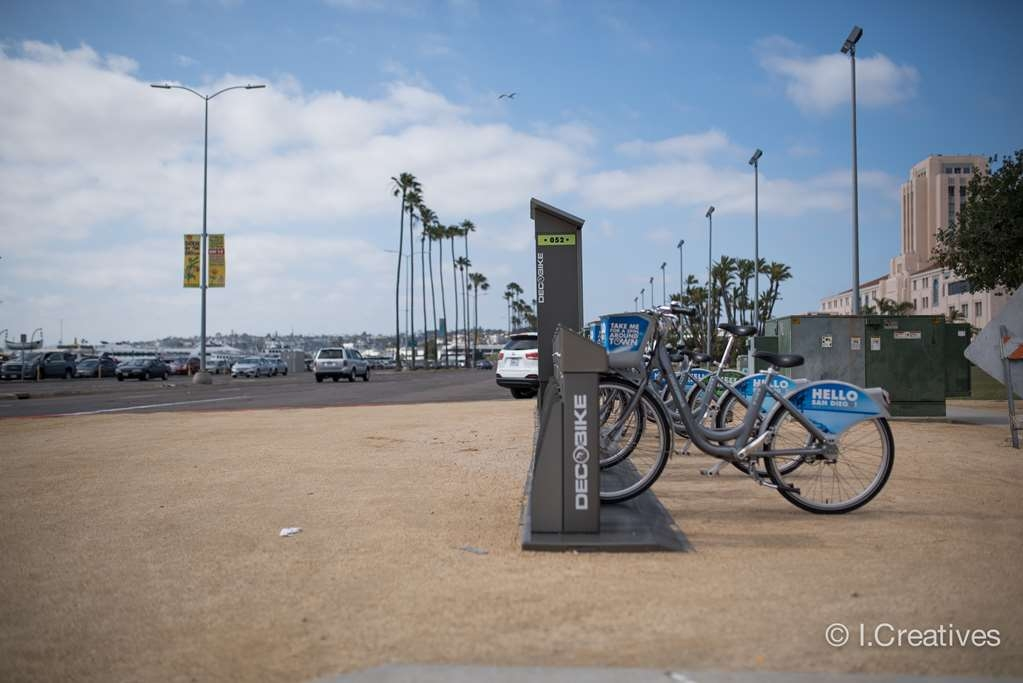 Best Western Plus Bayside Inn - San Diego is focused on being bike friendly and offers many bike rental stations. A very popular way to explore San Diego and enjoy the southern California weather at the same time.