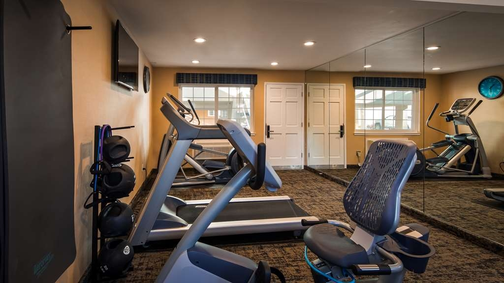 Best Western University Lodge - Work off last nights calories in our fitness center.