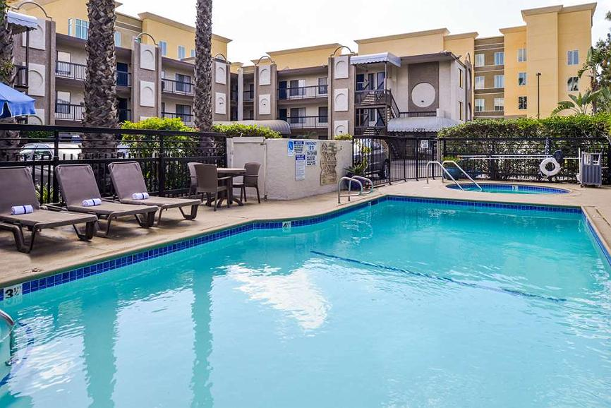 Best Western Courtesy Inn - Anaheim Park Hotel - Vista exterior