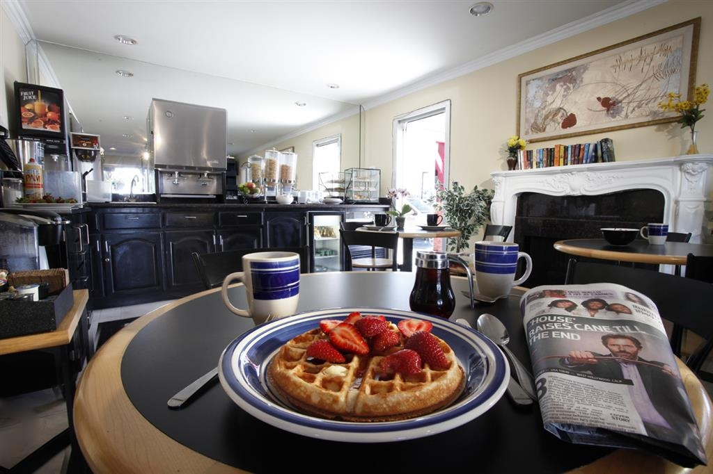 Best Western Westminster Inn - Enjoy a fresh hot waffle and many other food selections for breakfast.