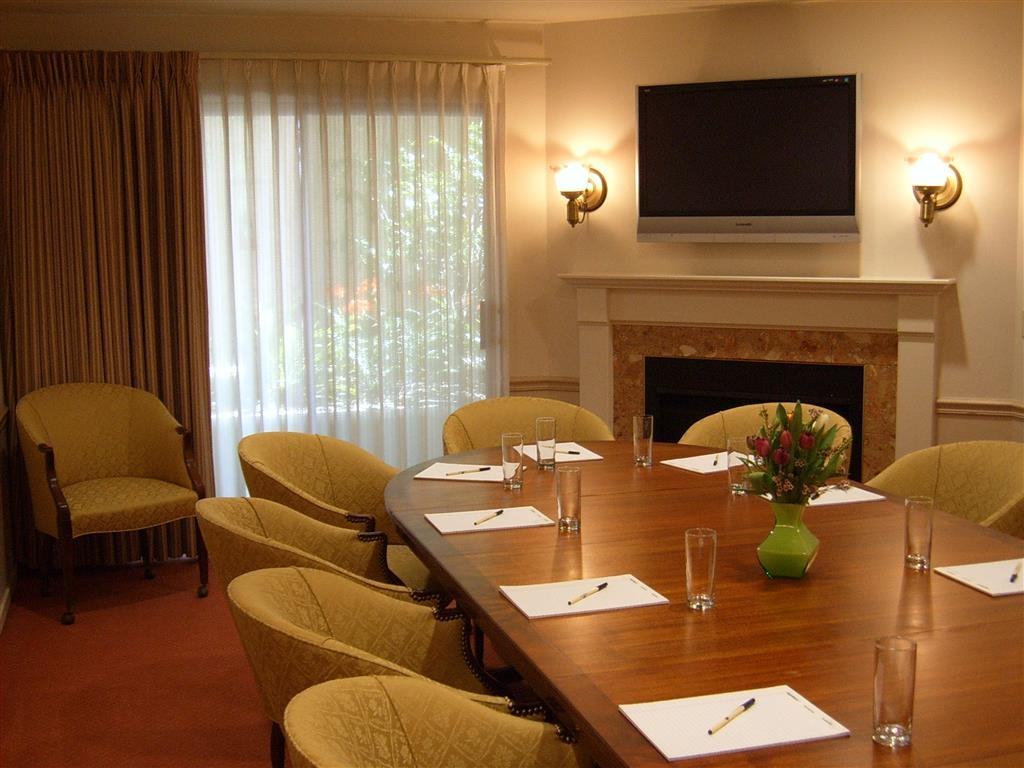 Best Western Plus Victorian Inn - Our Fireside Boardroom is a great place to get work done.