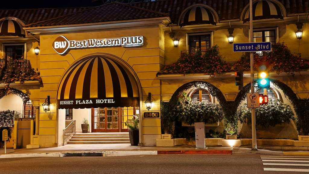 Best Western Plus Sunset Plaza Hotel - Aussenansicht