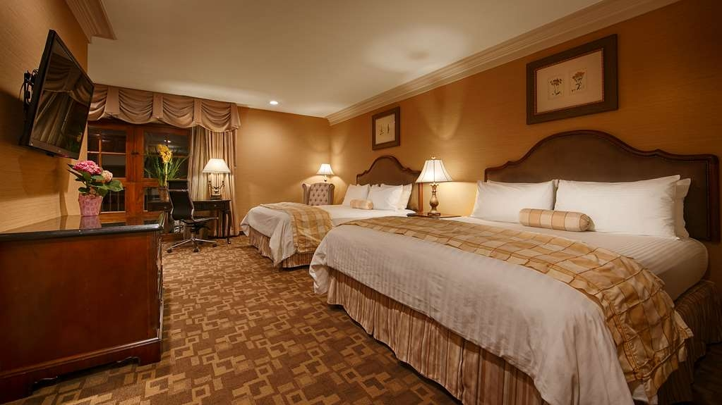Best Western Plus Sunset Plaza Hotel - Two Queen Bed Guest Room