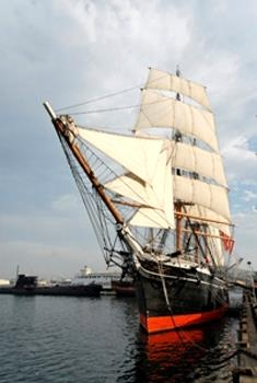 Best Western San Diego/Miramar Hotel - Star of India is the world's oldest active sailing ship and is open for touring.